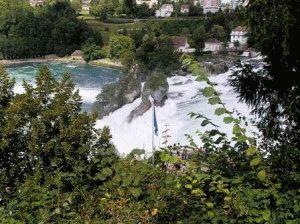 Рейнский водопад пейзаж фото