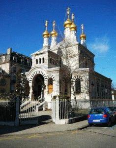 русская церковь в Женеве фото