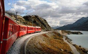 билет на поезд в Швейцарии фото