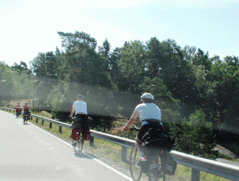 велосипедисты фото