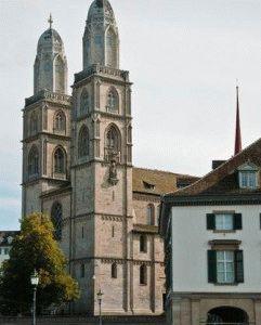 церковь Св Петра Цюрих фото