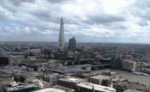 Башня Shard Осколок достопримечательность Лондон фото