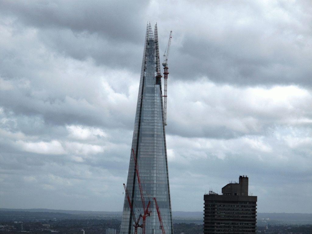 shard london - башня Осколок фото
