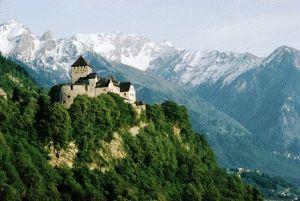 Достопримечательности княжества Лихтенштейн столицы Вадуц фото