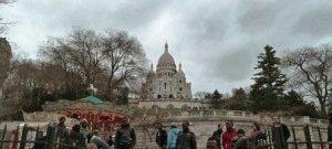 Париж в феврале фото