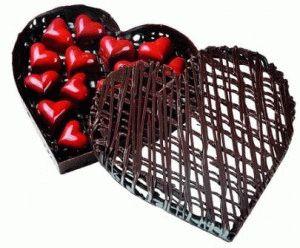 шоколадное сердечко париж фото