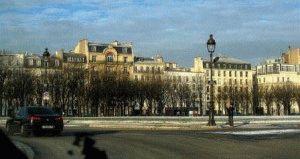 Париж в январе фото