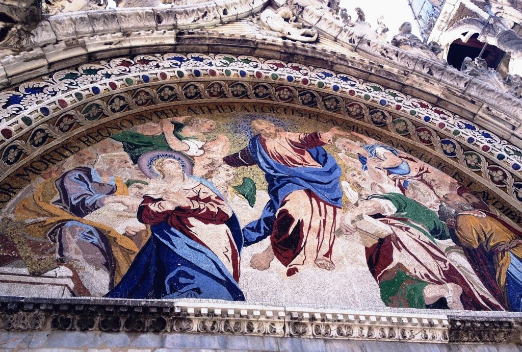 мозаика собора сан марко фото