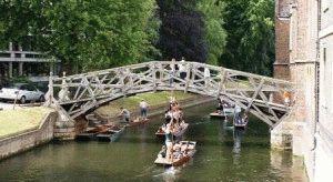 Mathematical Bridge математический мост кембридж фото