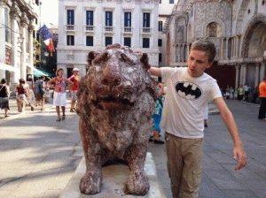 фото со львом в Венеции обязательно