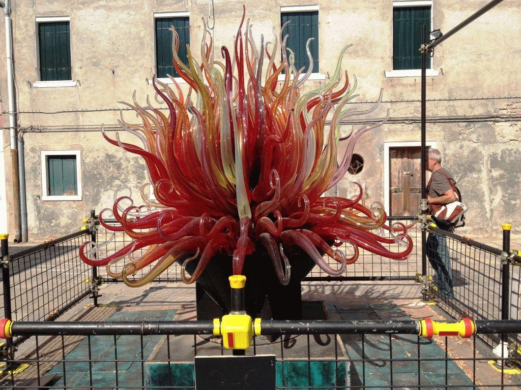 скульптура из стекла остров Мурано Венеция фото