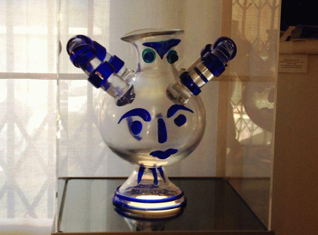 экспонат Музей стекла Мурано Венеция фото