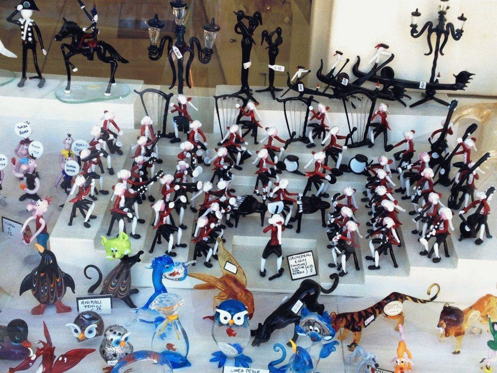 Оркестр - фигурки из стекла Мурано фото
