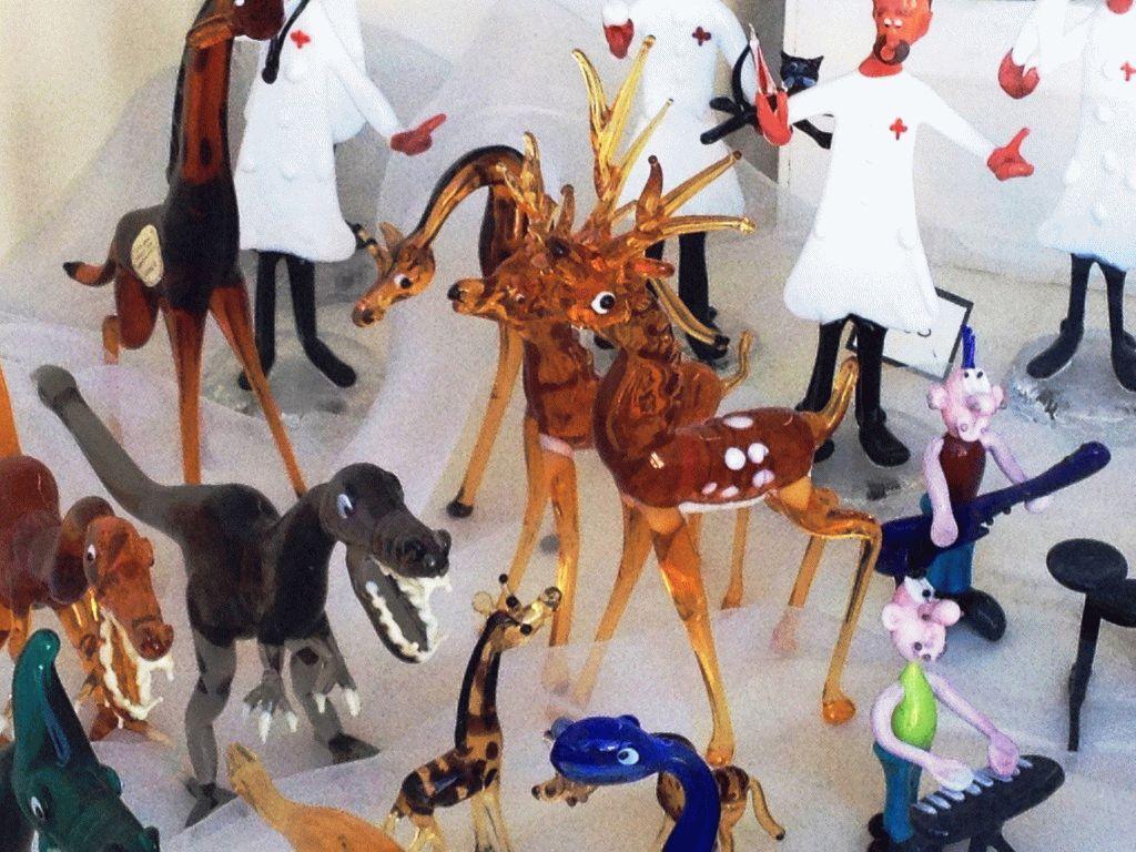 животные муранское стекло фото