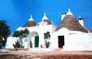 трулли фото белые домики остуни италия