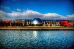 Центр Ла-Виллетт (La Villette), Город науки в Париже фото