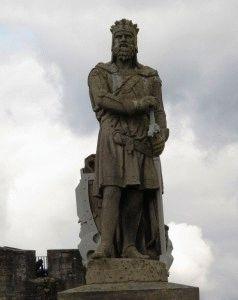 статуя Роберта Брюса фото