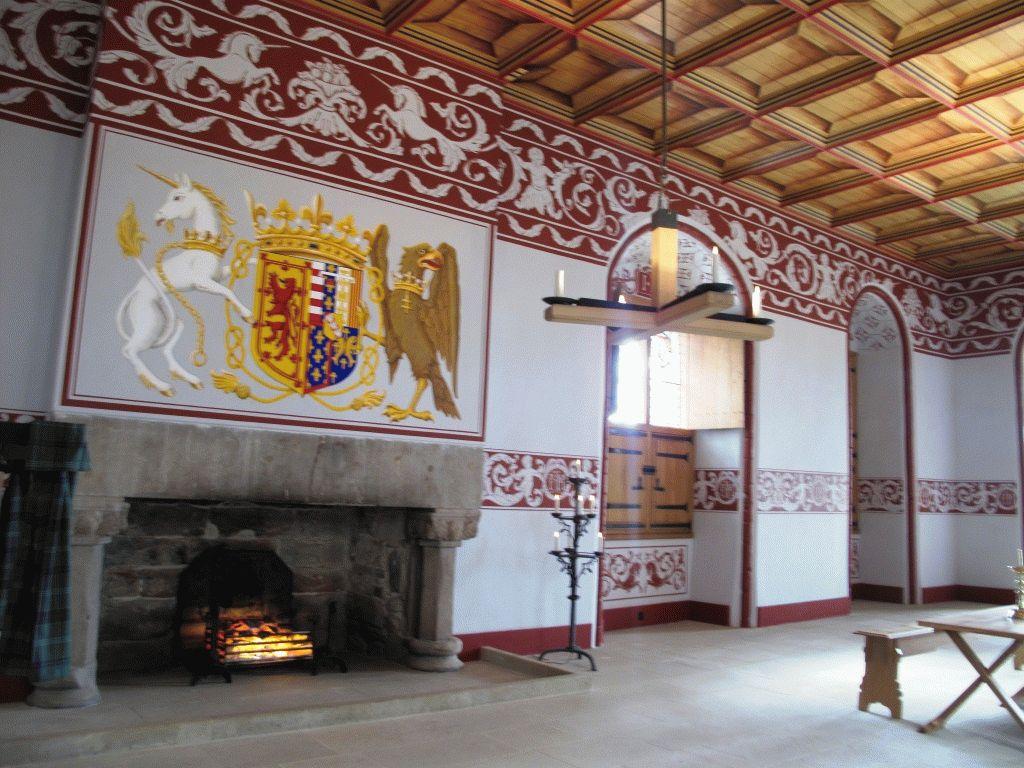 зал королевский дворец стирлинг фото