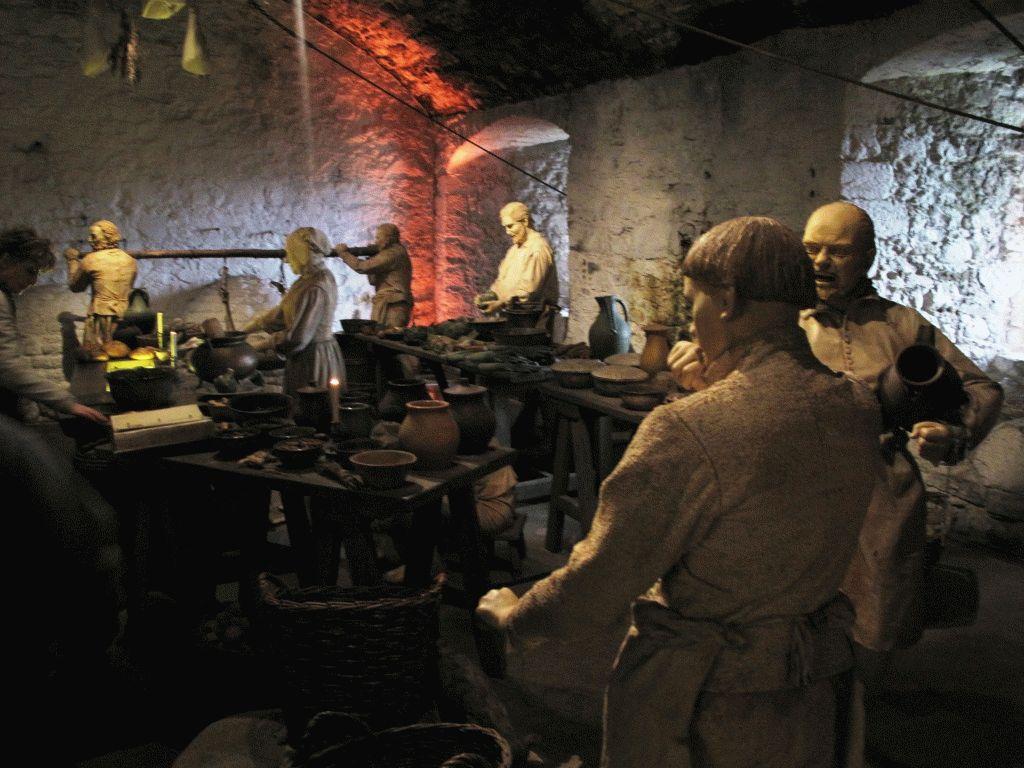 кухня в замке Стерлинг фото