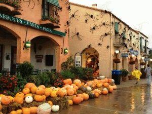 порт авентура хеллоуин фото