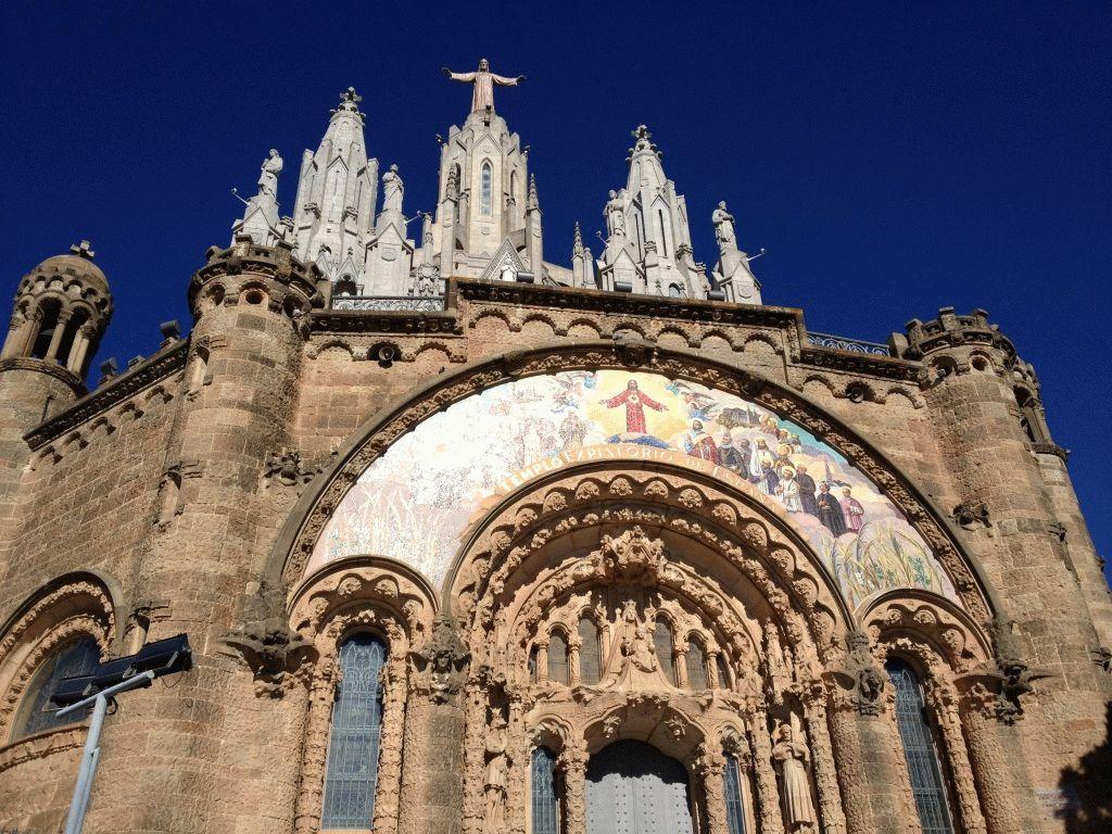 церковь тибидабо фото