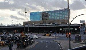 Как добраться из аэропорта Барселоны в центр города фото вокзал Сантс