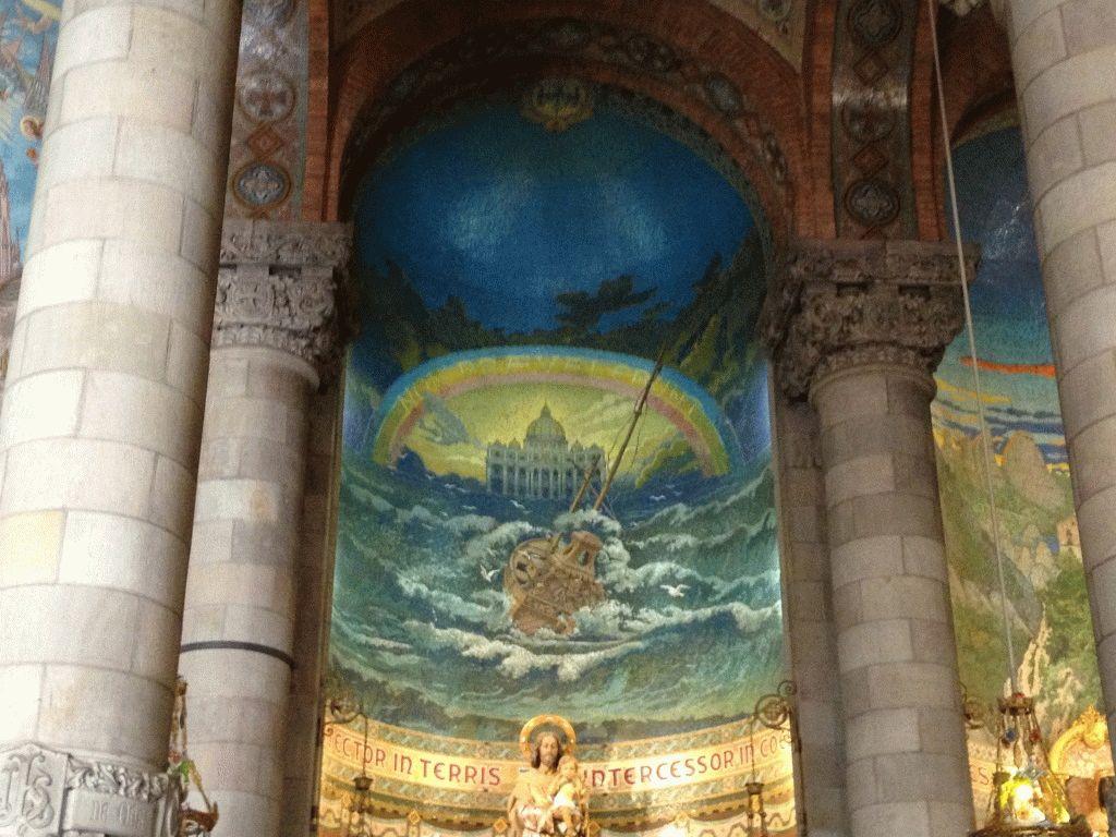 фото тибидабо базилика внутри