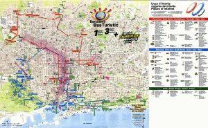 барселона бас туристик карта маршруты