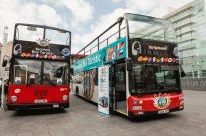 Barcelona Bus Turistic фото автобуса в барселоне