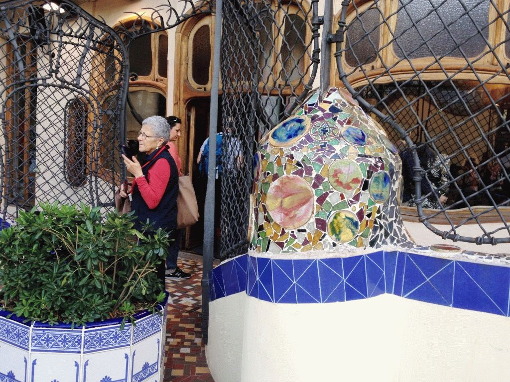 внутренний двор элементы дома Бальо фото
