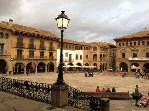 Испанская деревня Poble Espanyol в Барселоне фото