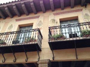 дом в испанской деревне фото