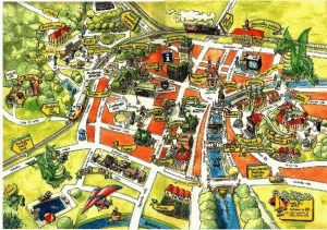 карта Любляны Словения картинка