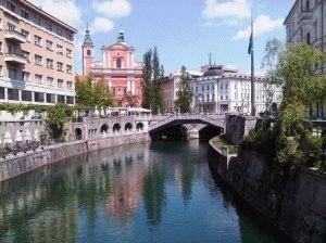 Любляна - достопримечательности столицы Словении фото