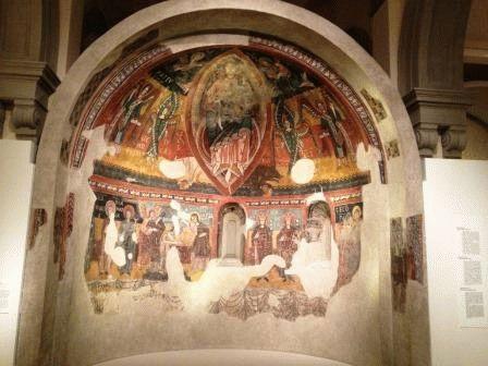 Музей национального искусства Фрески фото