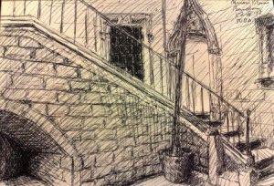 Музей Пикассо в Барселоне фото рисунок