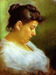 портрет матери Пикассо