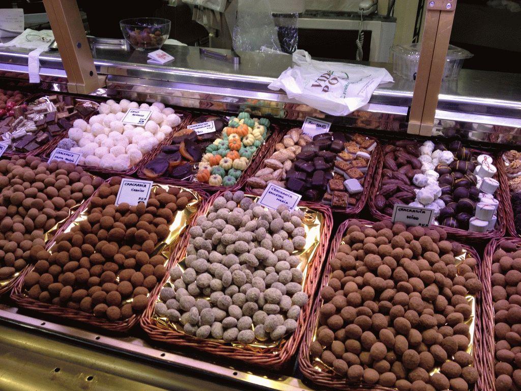 цукаты рынок Бокерия Барселона фото