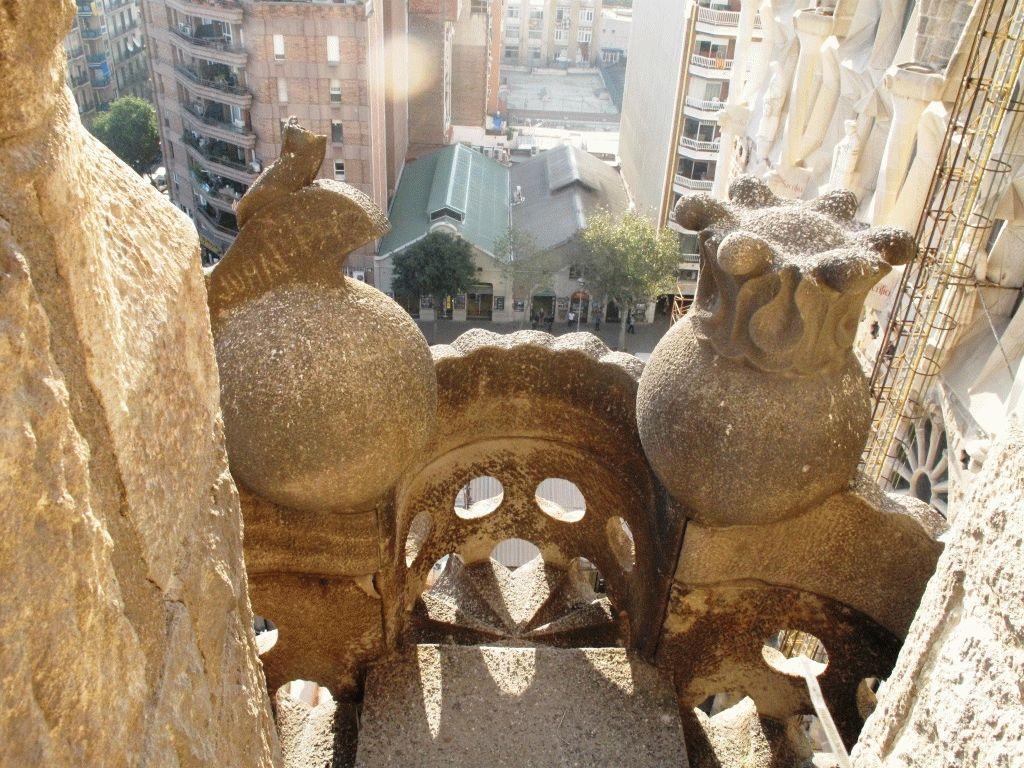 фото с башни на барселону