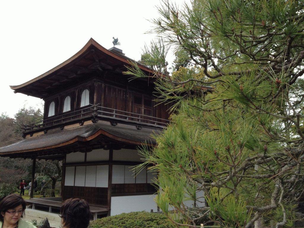 Серебряный павильон Гинкакудзи в Киото фото