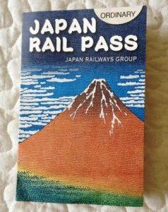 JR Pass фото япония проездной