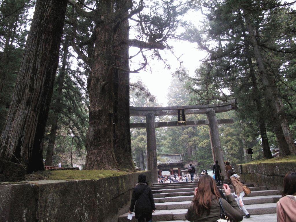 главный вход в Тосёгу Никко Япония фото