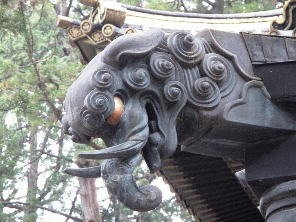 Ревущий Дракон Никко фото япония
