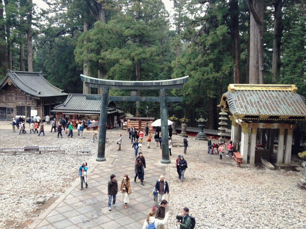 храм Футаарасан-дзиндзя никко фото япония