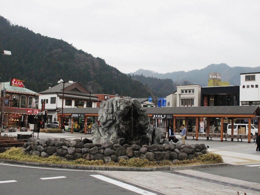 город Никко центральная площадь фото Япония