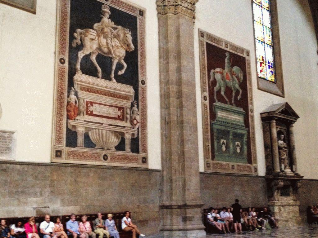 внутри собор Дуомо Флоренция фото
