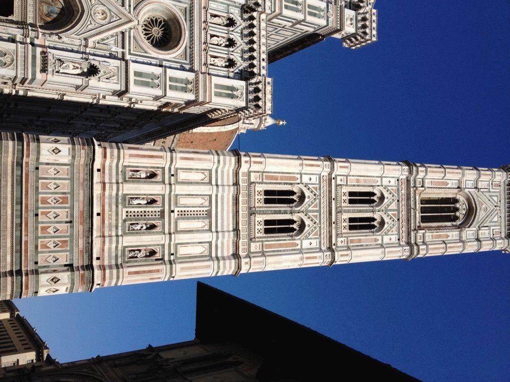 колокольня кампанила Флоренция фото