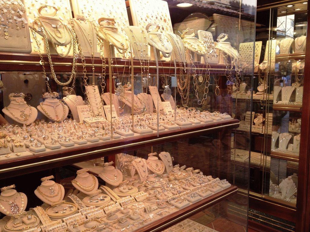 ювелирные магазины на мосту во Флоренции фото