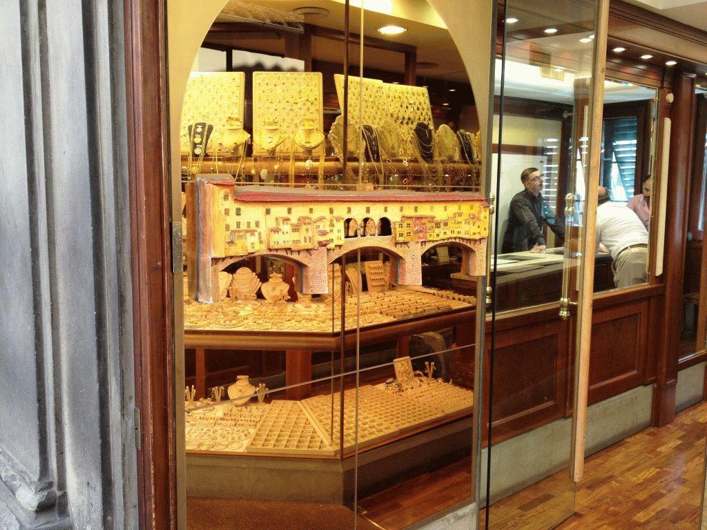 магазины золото Флоренции фото