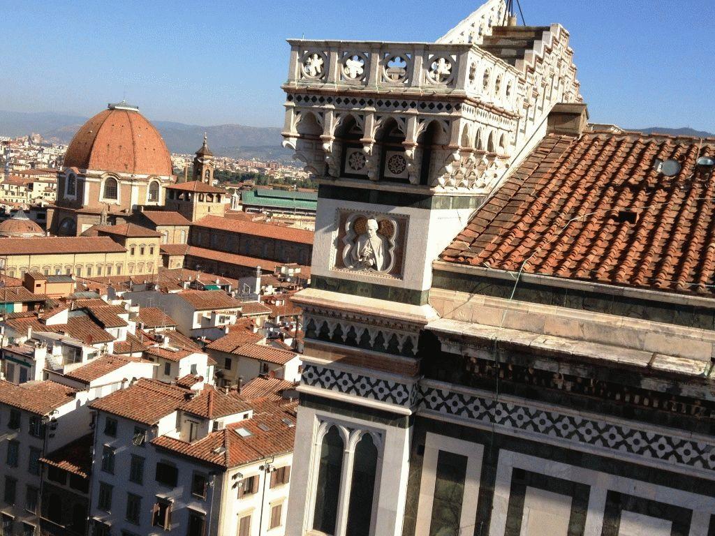 вид с кампанилы Флоренция фото
